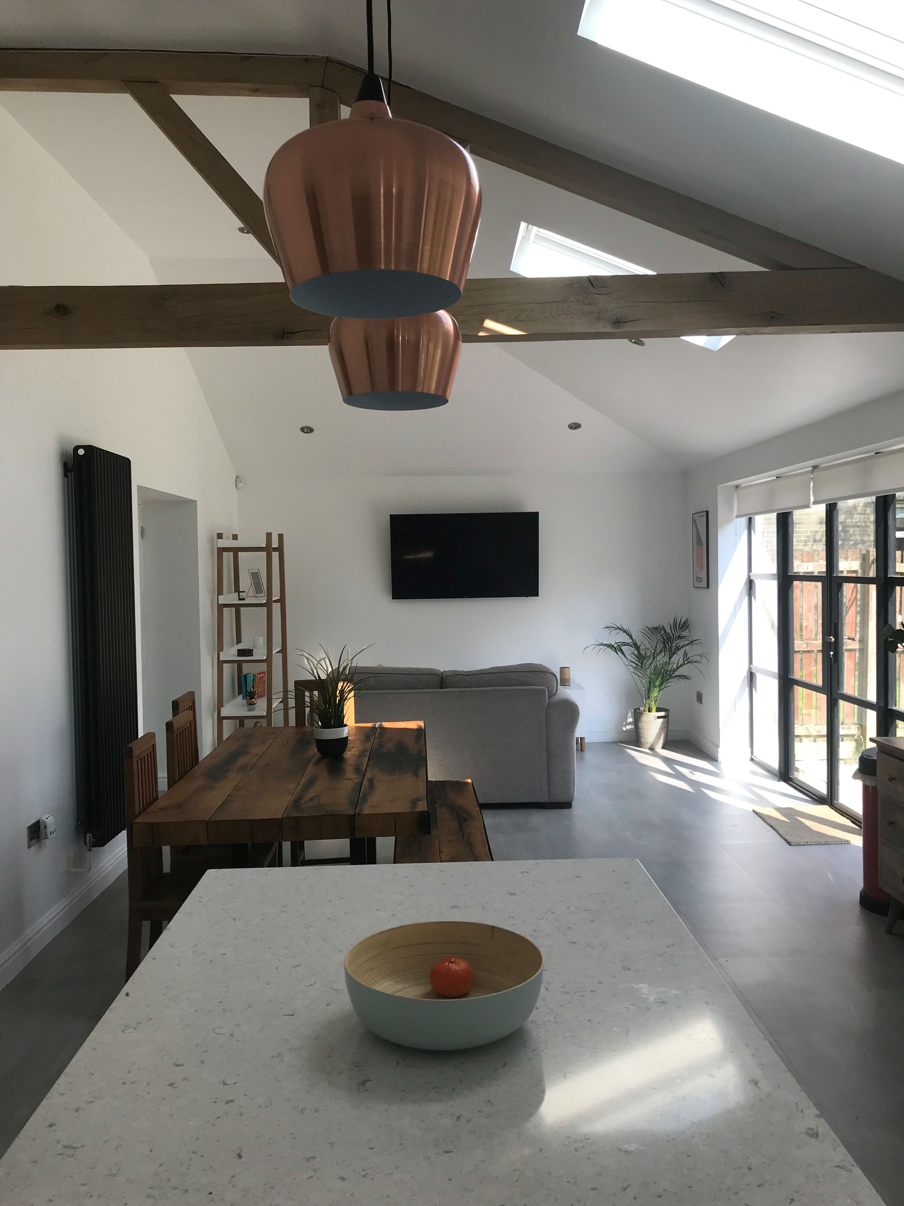 house extension after, residential, Highbury, Highbury Homes, house extension